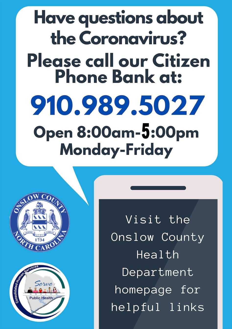 Phone bank hours