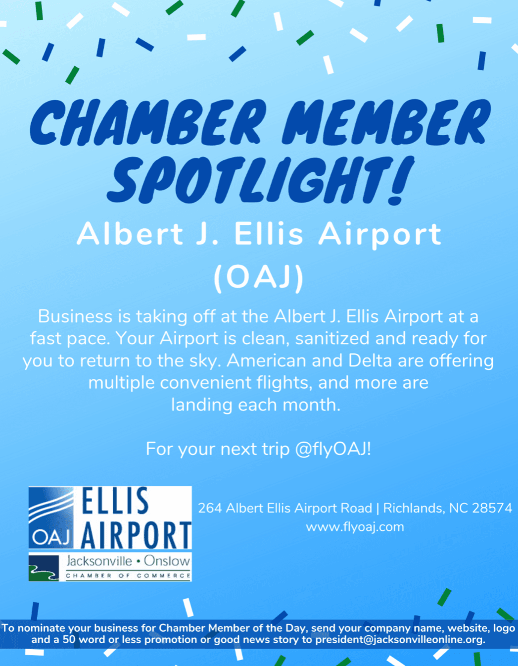 Chamber member of the day