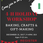 4H Holiday Workshop