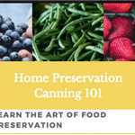 Canning and Preservation Classes
