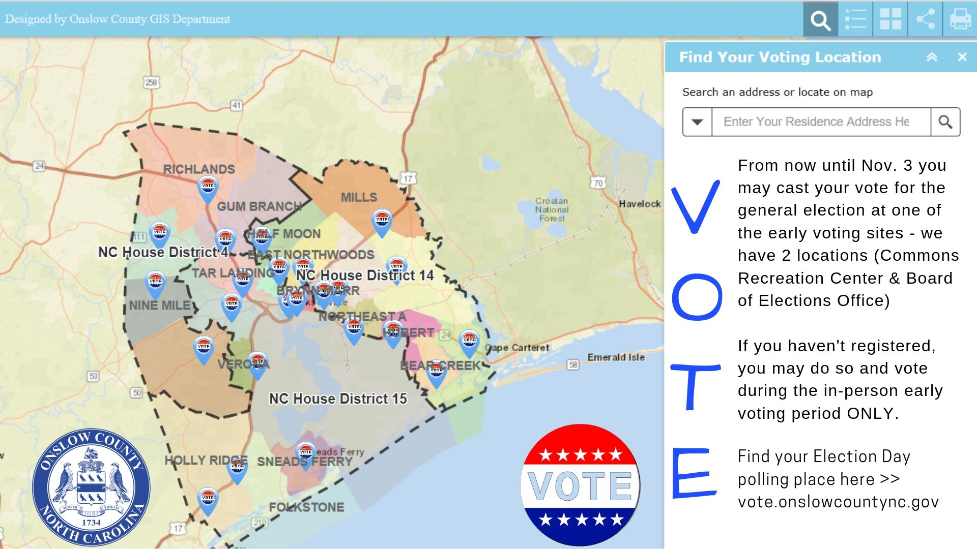 Find Your Voting Polling Place