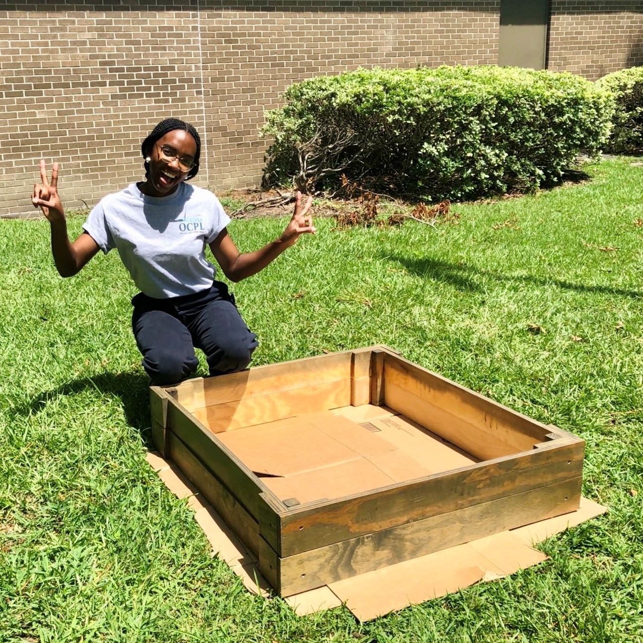 Kayla and the Garden Boxes