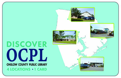 Onslow County Library Card